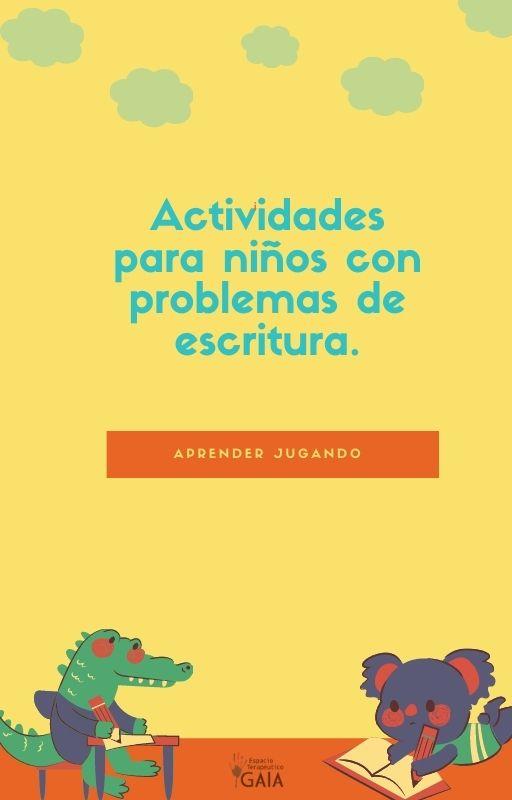 ACTIVIDADES PROBLEMAS ESCRITURA EBOOK