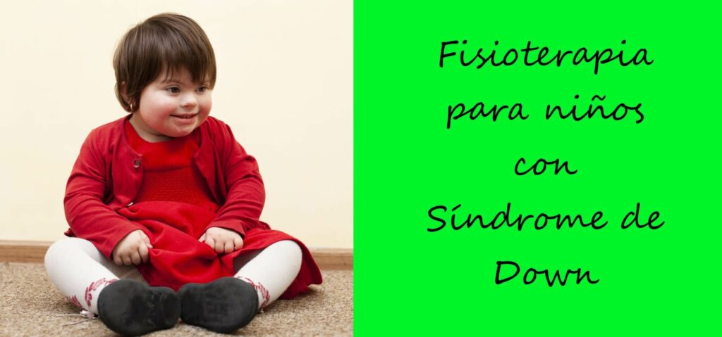 fisioterapia para niños con sindrome de down